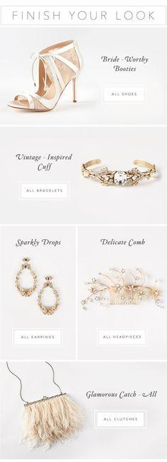 BHLDN   Anthropologie Weddings   Accessories   Email Design   Editorial Design