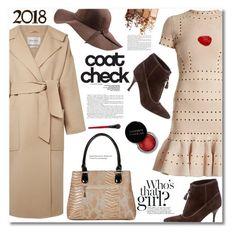 """""""Statement Coats"""" by ucetmal-1 ❤ liked on Polyvore featuring Bottega Veneta, MaxMara, Alexander McQueen, N'Damus, Maybelline, Concrete Minerals and statementcoats"""