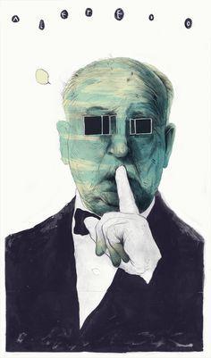 La imaginación en el mundo de Simon Prades #culturainquieta http://culturainquieta.com/es/arte/ilustracion/item/9329-la-imaginacion-en-el-mundo-surrealista-de-simon-prades.html