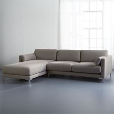 Cb2 Club Sofa Ottoman Different Types Of Sofas Scandinavian Designs - Decidedly Classic And Contemporary ...
