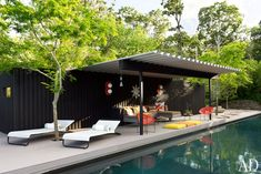shed roof & patio space: Designer Jonathan Adler's 10 Essentials for Summer Fun : Celebrity Style : Architectural Digest