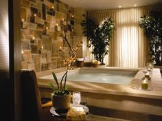 Indulge in a relaxing treatment at Mokara Spa. Located inside the Mokara San Antonio hotel on the River Walk, this spa features whirlpools, steam rooms, saunas and an outdoor poolside café, where you can take in rooftop views of the city. Spa Design, Home Design, Design Ideas, Salon Design, Home Spa Room, Spa Rooms, Spa Luxe, Luxury Spa, Spa Hotel