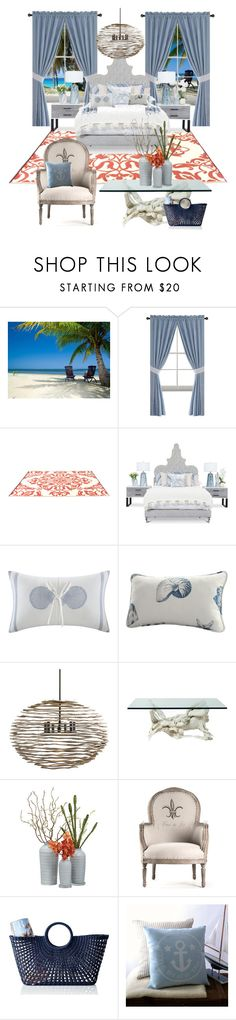 """"" by beelovem ❤ liked on Polyvore featuring interior, interiors, interior design, home, home decor, interior decorating, Harbor House, Arteriors and Mark & Graham"