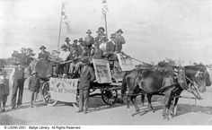 Campaigning for conscription in Mingenew (one of many towns that inspired Stonehaven) in 1917