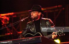 Bee Gees during 1027 KIISFM's 2001 Wango Tango Day 2 at Dodger Stadium in Los Angleles California United States