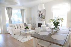 Cozy Living Rooms, Living Room Grey, Living Room Kitchen, Living Room Modern, Home Living Room, Living Room Decor, Interior Design Living Room, Living Room Designs, Room Inspiration