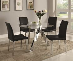 bc3ce21ee4f Sleek Round Glass Dining Tables That Make A Stylish Impression