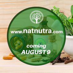 NaturaNutra is coming soon with its own website! New platform for our customers! www.natnutra.com/password