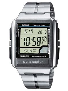 another view of casio men s wva470dj 1acf u201cwaveceptor u201d solar atomic rh pinterest com manual casio 3140 español Casio Watch Manual