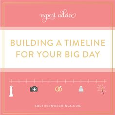 Expert Advice: Creating a Wedding Day Timeline - Southern Weddings Magazine