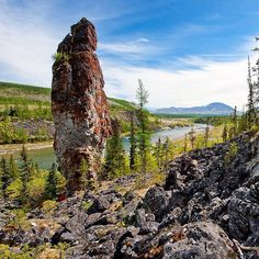 Stone woman. Balbanyu River. Yugyd Va National Park. Komi Republic. Russia. Каменная баба. Река Балбанью. Национальный парк Югыд Ва. Республика Коми. Россия. #discover #discovery #discoverearth #discoveryplace #travel #travels #traveling #traveler #trip #nature #awesome #amazing #great #stunning #beautiful #wow #top #komi #russia #коми #россия by discovery.gallery