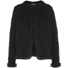 Giambattista Valli Wool-blend bouclé jacket ($2,449) ❤ liked on Polyvore