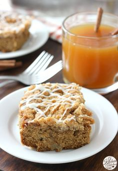Apple Cider Coffee Cake Recipe from @akitchenaddict