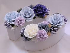 preserved flower centerpieces