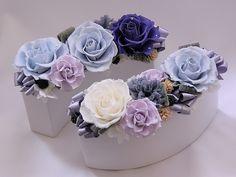 preserved flower centerpieces