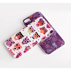 Cute Cartoon Owls Hard Protective Case for iPhone 5 - iPhone Cases - Apple Cases - Mobile Accessories Free Shipping