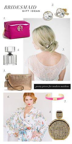 Bridesmaid gift ideas for modern maidens