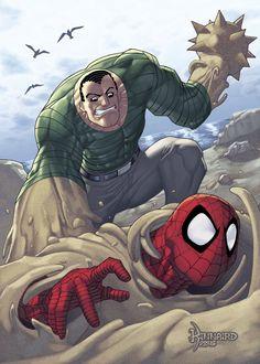 Sandman vs. Spider-Man - Ryan Kinnaird