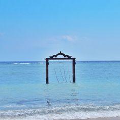 Seaside seclusion on Gili Trawangan, north of Lombok, Indonesia. Photo courtesy of travelovingg on Instagram.