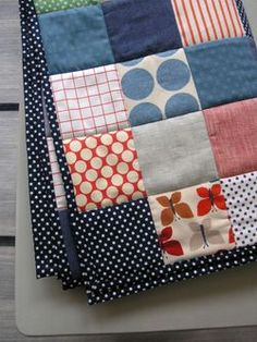 There is something so appealing about simple patchwork.