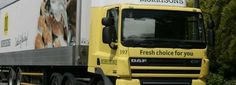 Morrisons delivery lorry