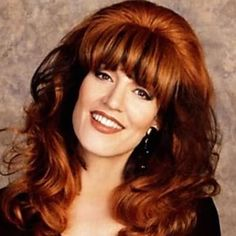 The classic flavors of brisket you crave with the ease of the slow cooker. This recipe produces the most crowd-pleasing, tender pot of brisket you've made. Full Hair, Big Hair, Peggy Bundy, Hair Movie, Katey Sagal, Slow Cooker Brisket, Married With Children, Fringe Bangs, Beautiful Red Hair