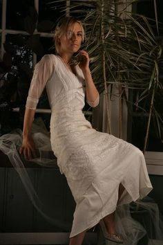 Nataya Titanic Dress 5901 in Ivory