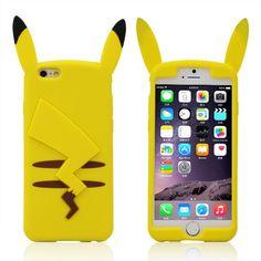 NEW! Pikachu case in silicone per i-Phone! Per info e per acquistarla cliccare qui--> https://www.facebook.com/otakingshopitalia/Consegna gratuita su ROMA o spedizione tracciata in tutta Italia! Per tutte le info manda un messaggio!
