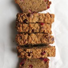 Brown Butter Banana Cranberry Bread | Joy the Baker