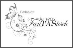 Marije's Creaties - Gifttekst_fanTAStisch