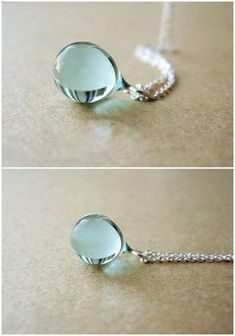 Mermaid's Tear Necklace - Simply Adore