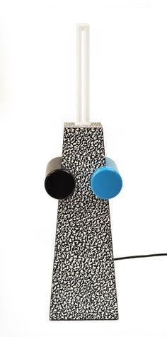 Michele Di Lucchi - A Lamp, Memphis Milano Casa Pop, Memphis Milano, Memphis Pattern, 1980s Design, I Love Lamp, Memphis Design, Design Movements, Lamp Light, Design Projects