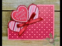 day crafts to sell sweets Heartfelt Corner Flip Card Flip Cards, Fancy Fold Cards, Folded Cards, Valentines Day Cards Handmade, Greeting Cards Handmade, Card Tutorials, Creative Cards, Scrapbook Cards, Homemade Cards