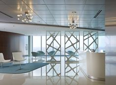 University Healthsystem Consortium, Corporate Interiors - A project by Christopher Whitcomb
