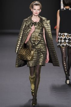 Anna Sui - Collections Fall Winter 2013-14 - Shows - Vogue.it
