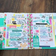 «My completed week on two in my @marionsmithdesigns heart of gold planner. Did you hear she has new planners out?! Make sure to head that way. I saw a…»