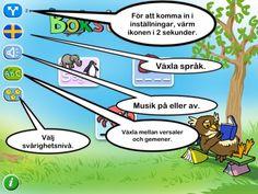 Bokstavslek: Lärande lek med ljud, bokstäver och ord.
