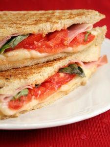 Italian Prosciutto Panini Sandwich Recipe