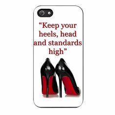 Marilyn Monroe Heels Quote iPhone 5/5s Case