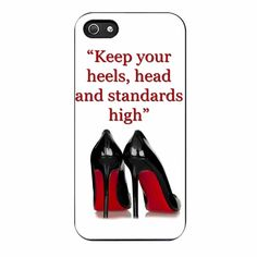 Marilyn Monroe Heels Quote iPhone 5/5s Case