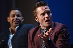 Jon Huertas and Seamus Dever at The Paley Center - September 30, 2013