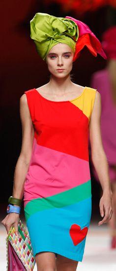 cool chic style fashion: Agatha Ruiz de la Prada 2011 Settimana della moda di Madrid