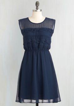 Vogue Wave Dress, #ModCloth