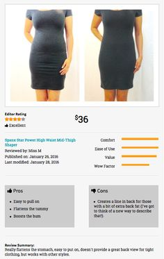 Before After Shapewear Reviews Spanx Star High Waisted Thigh Shaper