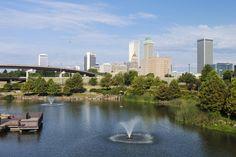 The South's Best Girlfriend Getaways: Downtown Tulsa, Oklahoma