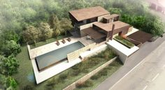 Contemporary House in Tuscany by Storm Studio