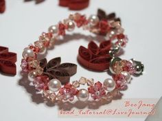 This bracelet is quite easy and suitable for beginner who want to try something a little harder. Tutorial : Crystal Bracelet #8 Level : Beginner No, this is not my design. I saw it at Bead2U , my supplies store. Very lovely and quite easy too. Equipment : - Swarovski Bicone Crystal 4 mm. (I use Lt.…