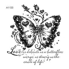 Butterfly Stamp (A1120)