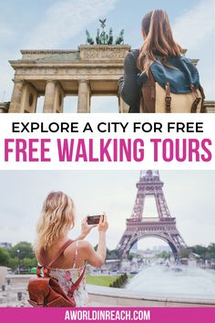 If you're traveling on a budget, free walking tours are a great way to explore the city for free (or very cheap!). Follow around a local to learn more about the city's history and see the sights, and then tip your guide at the end! Free Walking Tours / Budget Travel Tips / Travel on a Budget / Things to Do While Traveling / Travel the World for Cheap / Top Travel Tips / Things to Do / Explore a City for Free / Tours with Local Guides / #BudgetTravel #TravelTips Travel Advice, Travel Guides, Travel Tips, Travelling Tips, Travel Hacks, Travel Themes, Travel Destinations, Bag Essentials, Oregon