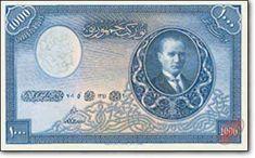 Sene 1931, Türkiye Cumhuriyeti ilk banknotlarını çıkartıyor. O zamanlar paralarımızı İngilizler basıyor. En küçük banknot 1 TL, en büyük banknot 1.000 TL